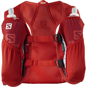 Salomon Agile 2 Rugzak Set, fiery red